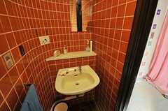 トイレの手洗い場。(2013-02-20,共用部,TOILET,1F)