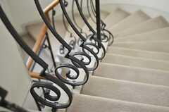 階段の様子2。(2013-02-20,共用部,OTHER,3F)
