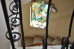 階段の様子3。(2013-02-20,共用部,OTHER,3F)