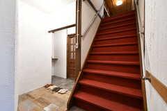 階段の様子。(2020-01-31,共用部,OTHER,1F)