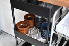 食器類はラックに収納されています。(2020-01-31,共用部,KITCHEN,2F)