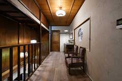 廊下に設置されたソファスペース。(2020-01-31,共用部,OTHER,2F)