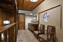 廊下に設置されたソファスペース2。(2020-01-31,共用部,OTHER,2F)