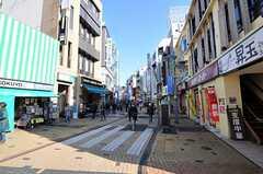 各線・小田原駅からシェアハウスへ向かう道の様子。(2011-01-12,共用部,ENVIRONMENT,1F)