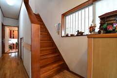 階段の様子。(2017-06-22,共用部,OTHER,1F)