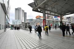 各線・相模大野駅周辺の様子。(2018-01-17,共用部,ENVIRONMENT,1F)