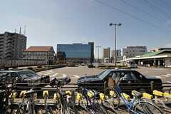 JR横浜線・古淵駅前の様子。(2013-09-30,共用部,ENVIRONMENT,3F)