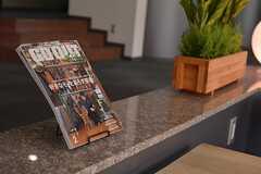 インテリア関連の雑誌が置かれています。(2015-02-25,共用部,OTHER,1F)