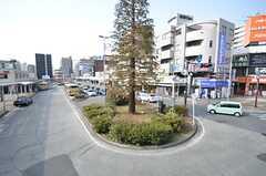 JR横浜線・淵野辺駅前のロータリー。(2015-02-25,共用部,ENVIRONMENT,1F)