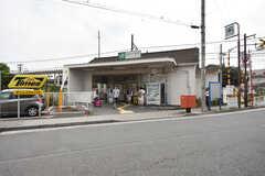 JR鶴見線・鶴見小野駅の様子。(2016-07-25,共用部,ENVIRONMENT,1F)