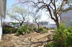庭の様子。(2015-03-31,共用部,OTHER,1F)
