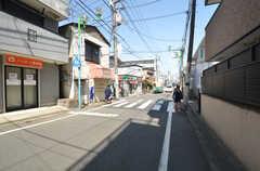 東急東横線・白楽駅からシェアハウスへ向う道の様子。(2015-03-31,共用部,ENVIRONMENT,1F)