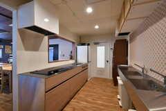 キッチンの様子。(2017-08-09,共用部,KITCHEN,3F)