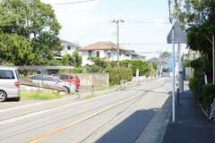 駅からシェアハウスに向かう道の様子。(2017-08-09,共用部,ENVIRONMENT,1F)