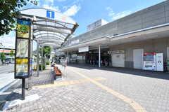 東急田園都市線・藤が丘駅の様子。(2017-08-09,共用部,ENVIRONMENT,1F)