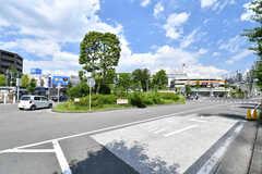 東急田園都市線・藤が丘駅々の様子2。(2017-08-09,共用部,ENVIRONMENT,1F)