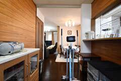 キッチン脇のフリースペース2。(2019-05-27,共用部,LIVINGROOM,2F)