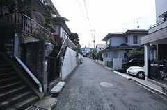 シェアハウスの周辺は坂が多いです。(2011-02-18,共用部,ENVIRONMENT,2F)