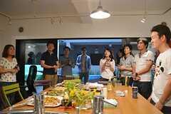 イベント後のパーティーの様子3。(2015-06-28,共用部,PARTY,1F)