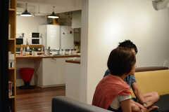 入居者インタビュー時の様子。(2015-08-23,共用部,OTHER,1F)
