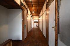廊下の様子。(2016-09-30,共用部,OTHER,2F)