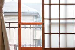 2重窓です。(201号室)(2016-09-30,専有部,ROOM,2F)