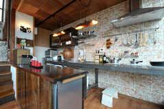 キッチンの様子。(2011-11-28,共用部,KITCHEN,3F)