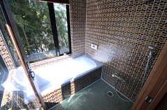 バスルームの様子。(2011-10-25,共用部,BATH,4F)