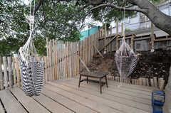 中庭の様子。(2012-05-16,共用部,OTHER,3F)