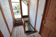 階段の様子。(2011-10-25,共用部,OTHER,3F)
