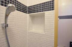 ちょっとした洗面用具を置けるスペースがあります。(2011-10-25,共用部,BATH,2F)