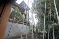 専有部の窓から眺めたラウンジの様子。(202号室)(2011-11-28,専有部,ROOM,2F)