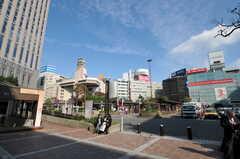各線・横浜駅前の様子。(2011-11-28,共用部,ENVIRONMENT,1F)