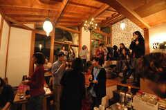 オープンナイト開催時の様子。(2011-11-26,共用部,PARTY,3F)