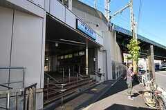 京浜急行電鉄本線・南太田駅の様子。(2012-08-24,共用部,ENVIRONMENT,2F)