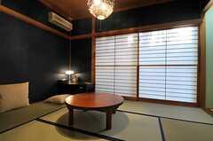 専有部の様子。和室です。(101号室)(2011-01-25,専有部,ROOM,1F)