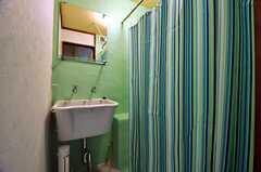 脱衣室の様子。(2011-01-25,共用部,BATH,1F)