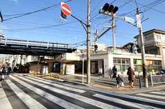 JR根岸線・山手駅の様子。(2011-01-25,共用部,ENVIRONMENT,1F)