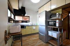 キッチンの様子。(2017-05-31,共用部,KITCHEN,1F)