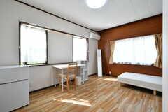 専有部の様子。2名入居も可能です。(201号室)(2017-05-31,専有部,ROOM,1F)