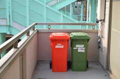 ゴミ置き場の様子。(2012-09-07,共用部,OTHER,2F)