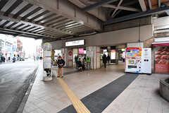 東急東横線・大倉山駅の様子。(2017-02-01,共用部,ENVIRONMENT,1F)
