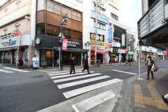東急東横線・大倉山駅前商店街の様子。(2017-02-01,共用部,ENVIRONMENT,1F)