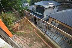 庭の様子。(102号室)(2015-10-21,専有部,ROOM,1F)