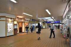 京急・弘明寺駅の様子。(2015-10-21,共用部,ENVIRONMENT,1F)