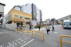 相鉄本線・上星川駅周辺の様子。(2016-03-16,共用部,ENVIRONMENT,1F)
