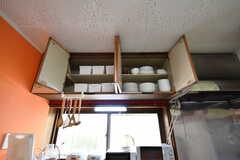 食器類や部屋ごとに使えるボックスが収納されています。(2020-07-21,共用部,KITCHEN,1F)