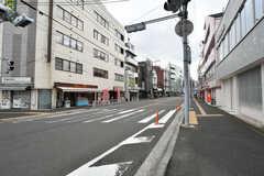 JR横浜線・大口駅前の様子。(2020-07-21,共用部,ENVIRONMENT,1F)