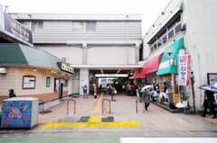 東急東横線綱島駅の様子。(2010-04-16,共用部,ENVIRONMENT,1F)