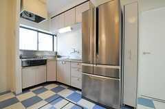 シェアハウスのキッチンの様子。(2010-11-02,共用部,KITCHEN,1F)